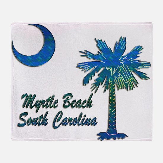 Myrtle Beach 1 Throw Blanket