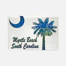 Myrtle Beach 1 Rectangle Magnet
