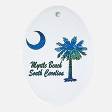 Myrtle Beach 1 Ornament (Oval)