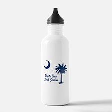 Myrtle Beach 2 Water Bottle