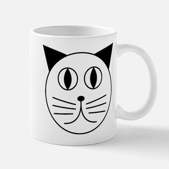 Cute Kitty Cat Face Mug