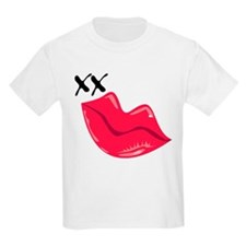 Red Lips Kiss T-Shirt