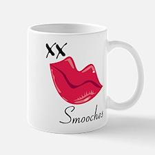 Red Lips Smooches Mug