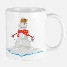 Melting Snowman Mug