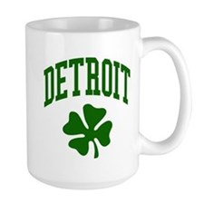 Detroit 313 IRISH Mug