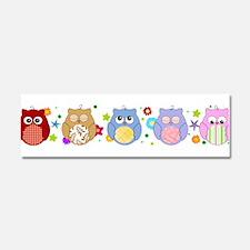 cute owls Car Magnet 10 x 3