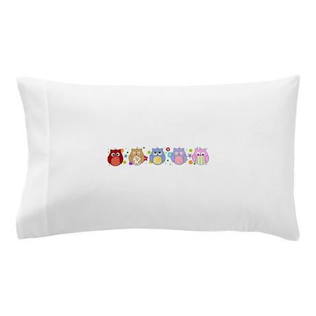 Cute Bolster Pillow Case : cute owls Pillow Case by InspirationzStore