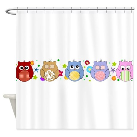 cute owls shower curtain by inspirationzstore