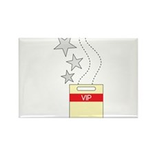 VIP Tag Rectangle Magnet