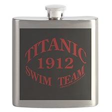 Titanic 1912 Swim Team (black/red) Flask
