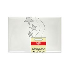 VIP Backstage Pass Rectangle Magnet