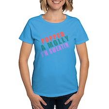 Popped A Molly Im Sweatin - Music Shirt Tee