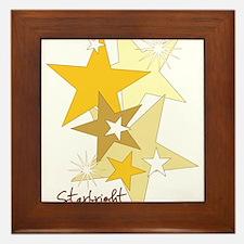 Starbright Stars Framed Tile