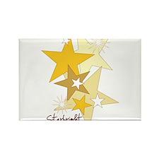 Starbright Stars Rectangle Magnet