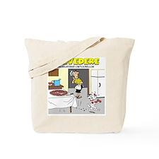 Belvederes Pizza Bone Tote Bag