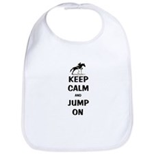 Keep Calm and Jump On Horse Bib