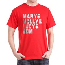 Mary Molly Lucy EDM Music Shirt T-Shirt