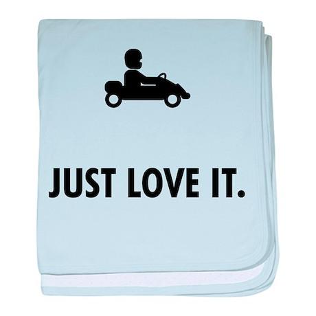 Karting baby blanket