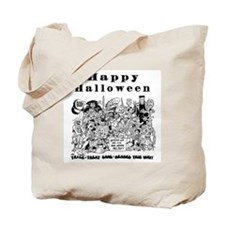Deluxe Happy Halloween Bag, two-sided