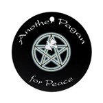 Another Pagan for Peace Ornament (Round)