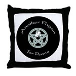 Another Pagan for Peace Throw Pillow