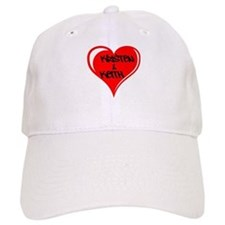Personalized with names Valentines day heart Baseball Baseball Cap