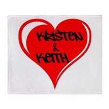 Personalized with names Valentines day heart Stad