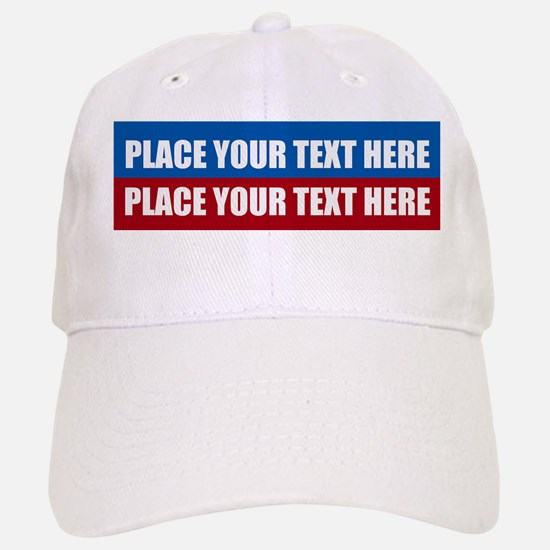 America Text Message Baseball Baseball Cap