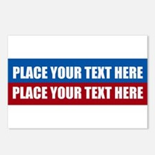 America Text Message Postcards (Package of 8)