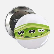 "Pea Pod 2.25"" Button"