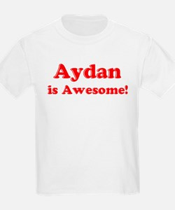 Aydan is Awesome Kids T-Shirt