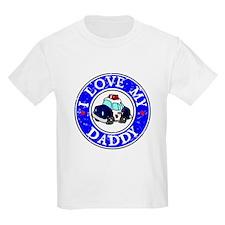 POLICE I LOVE MY DADDY T-Shirt
