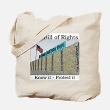 The Wall Against Tyranny Tote Bag
