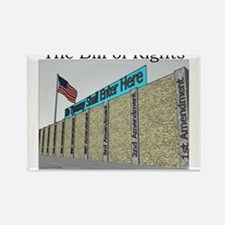 The Wall Against Tyranny Rectangle Magnet