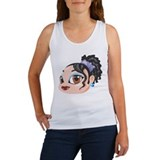 Brown eyed girl Women's Tank Tops