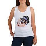 Brown eyed girl Women's Tank Tops