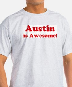 Austin is Awesome Ash Grey T-Shirt