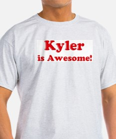 Kyler is Awesome Ash Grey T-Shirt