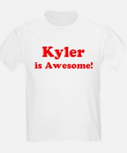 Kyler is Awesome Kids T-Shirt