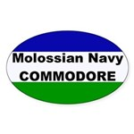 Molossian Navy Commodore Sticker