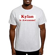 Kylan is Awesome Ash Grey T-Shirt