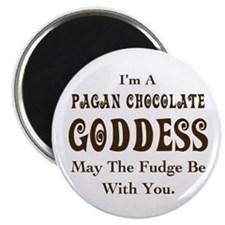 Pagan Chocolate Goddess Magnet