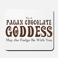 Pagan Chocolate Goddess Mousepad