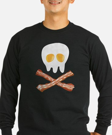 Tasty Skull Bones Long Sleeve T-Shirt