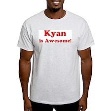 Kyan is Awesome Ash Grey T-Shirt