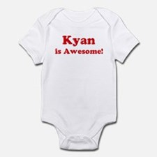 Kyan is Awesome Infant Bodysuit
