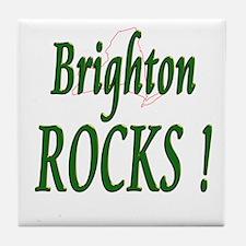 Brighton Rocks ! Tile Coaster