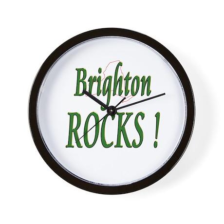 Brighton Rocks ! Wall Clock