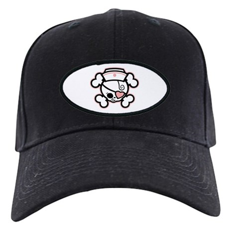 Dolly Heart RN Black Cap