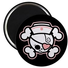 "Dolly Heart RN 2.25"" Magnet (100 pack)"